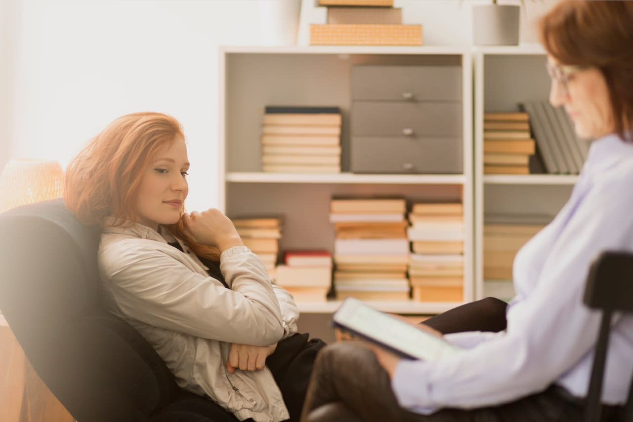 life coaching with woman